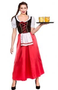 Bavarian Beer Wench Costume (EF2198)